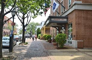 Hotel Hampton Inn Alexandria-old Town/king St. Metro