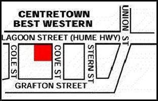 Hotel Best Western Centretown Goulburn