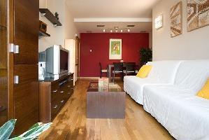 277383) Apartamento En Barcelona Con Aire Acondicionado, Ascensor, Terraza, Lavadora
