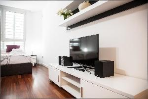 409568) Apartamento A 410 M Del Centro De Barcelona Con Aire Acondicionado, Ascensor, Aparcamiento,