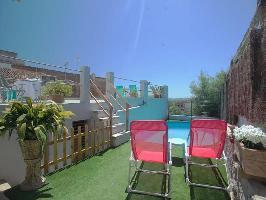 334591) Casa En Campanet Con Piscina, Aire Acondicionado, Terraza, Jardín