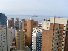 384277) Apartamento En El Centro De Benidorm Con Aire Acondicionado, Ascensor, Lavadora