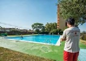 515874) Casa En El Centro De Bon Relax Con Aparcamiento, Jardín, Lavadora