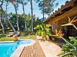 619498) Villa En El Centro De Inca Con Aparcamiento, Terraza, Jardín, Lavadora