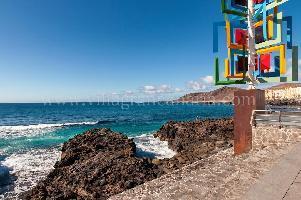 320328) Apartamento A 810 M Del Centro De Las Palmas De Gran Canaria Con Internet, Ascensor, Lavador