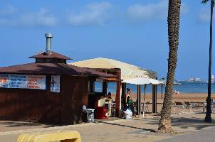 506557) Apartamento En El Centro De Islas Menores Con Terraza, Jardín, Lavadora