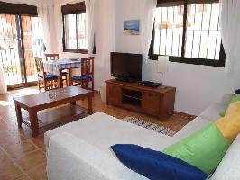 148661) Casa En Mazarrón Con Internet, Piscina, Aire Acondicionado, Jardín