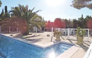 348826) Casa En El Centro De Les Tres Cales Con Internet, Piscina, Aire Acondicionado, Jardín