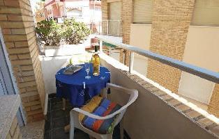 504628) Apartamento A 505 M Del Centro De Los Alcázares Con Jardín, Lavadora