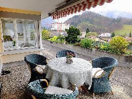254891) Apartamento En El Centro De Interlaken Con Internet, Ascensor, Aparcamiento, Terraza