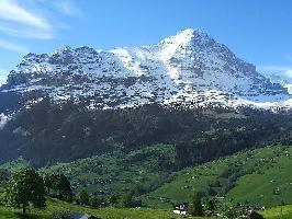 38419) Casa En El Centro De Grindelwald Con Internet, Aparcamiento, Balcón, Lavadora