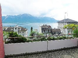 36747) Apartamento En El Centro De Montreux Con Internet, Ascensor, Aparcamiento, Terraza