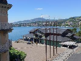 496095) Apartamento En El Centro De Montreux Con Internet, Balcón, Lavadora
