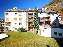 61347) Apartamento En El Centro De Pontresina Con Ascensor, Aparcamiento, Lavadora