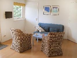 128475) Apartamento A 895 M Del Centro De Noordwijk Con Internet, Aparcamiento, Terraza