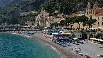 491634) Apartamento En El Centro De Amalfi Con Lavadora
