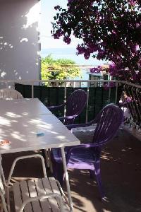 502656) Apartamento En El Centro De Podstrana Con Internet, Aire Acondicionado, Aparcamiento, Jardín