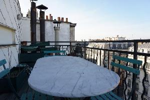 449986) Apartamento En El Centro De París Con Ascensor, Terraza, Lavadora