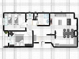 445517) Apartamento A 37 M Del Centro De Lieja Con Lavadora