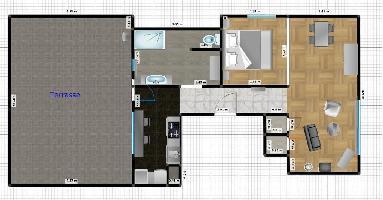 445609) Apartamento En El Centro De Lieja Con Terraza