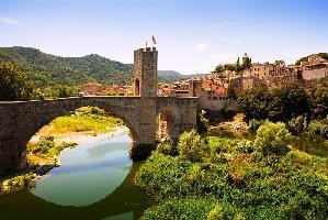 484610) Cortijo En Sant Cebrià De Vallalta Con Piscina, Terraza, Lavadora