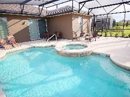 445739) Casa En El Centro De Davenport Con Piscina, Aire Acondicionado, Aparcamiento, Lavadora