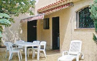 169567) Casa A 637 M Del Centro De Canet-en-roussillon Con Jardín, Lavadora