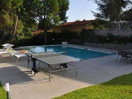 344831) Villa En El Centro De Nicolosi Con Piscina, Aire Acondicionado, Aparcamiento, Terraza