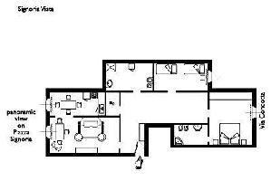 552993) Apartamento En El Centro De Florencia Con Aire Acondicionado, Ascensor, Lavadora