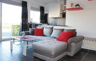 468366) Apartamento En El Centro De Blankenberge Con Internet, Jardín, Lavadora
