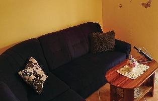 640259) Apartamento En El Centro De Njivice Con Internet, Aire Acondicionado, Jardín
