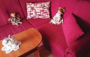 640364) Apartamento En El Centro De Njivice Con Internet, Aire Acondicionado, Jardín