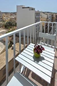 510427) Apartamento A 936 M Del Centro De San Pawl Il-ba?ar Con Aire Acondicionado, Ascensor, Balcón